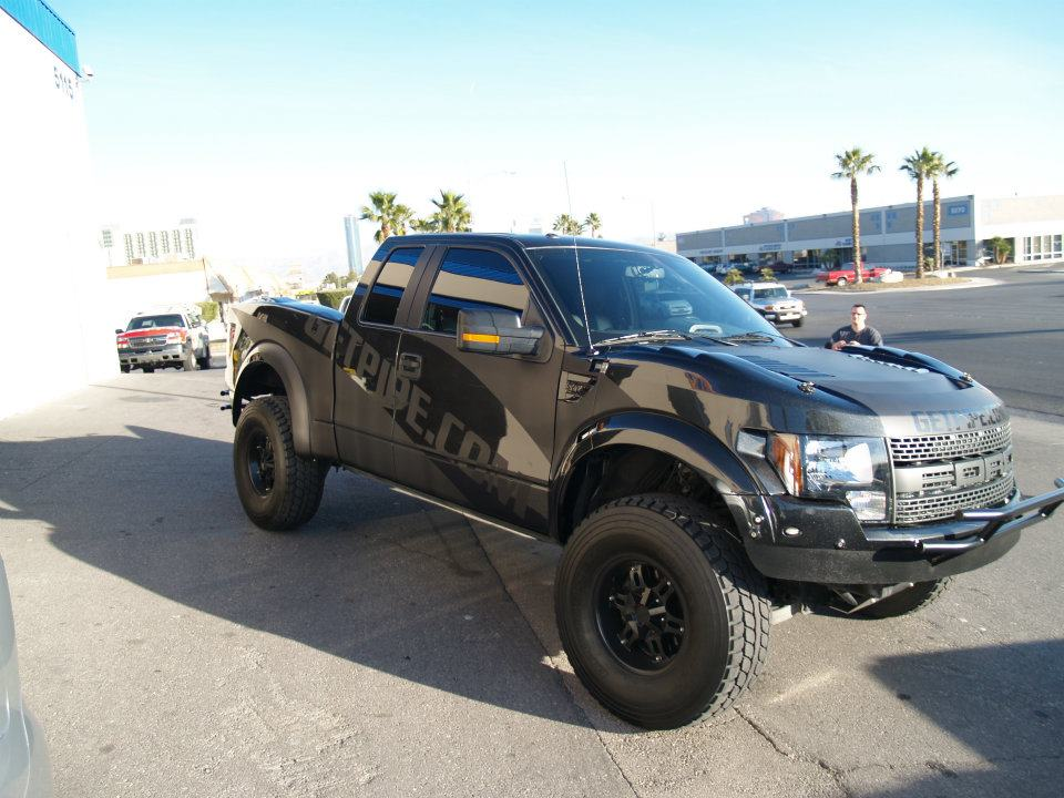 Lifted 2015 F150 >> Truck Wraps